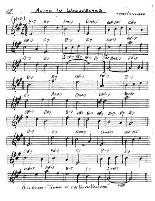 Partitura Saxofón Fain Hilliard