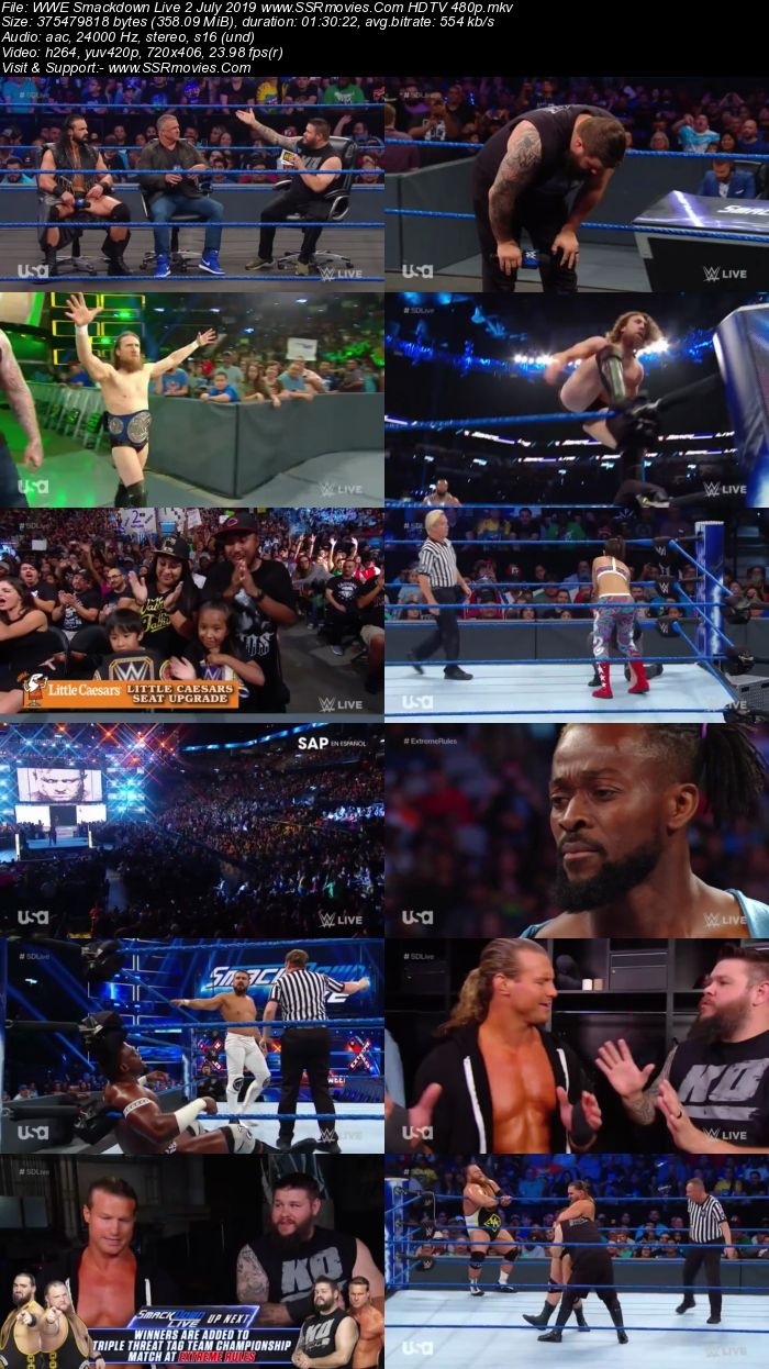 WWE Smackdown Live 25 June 2019 Full Show Download Movie Download