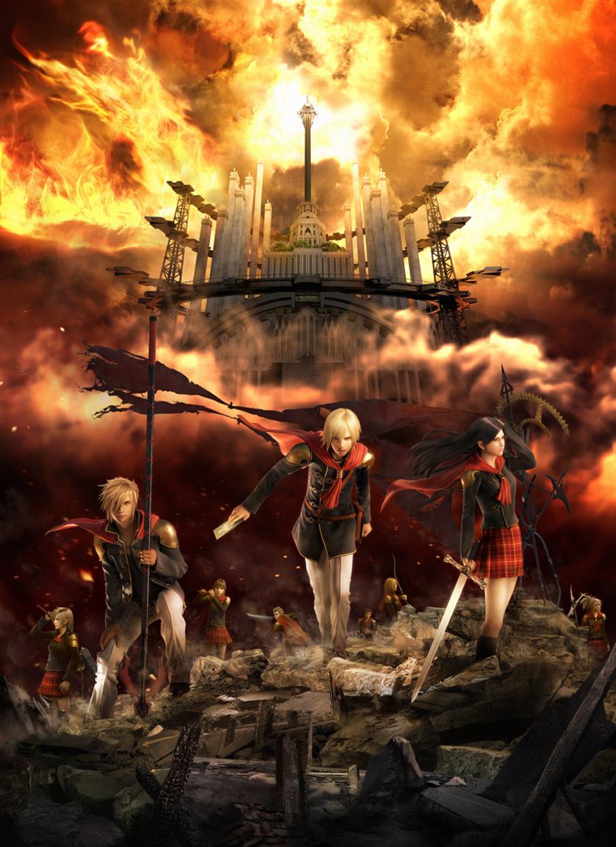 Final Fantasy HD Wallpaper: Final Fantasy XIII Type-0