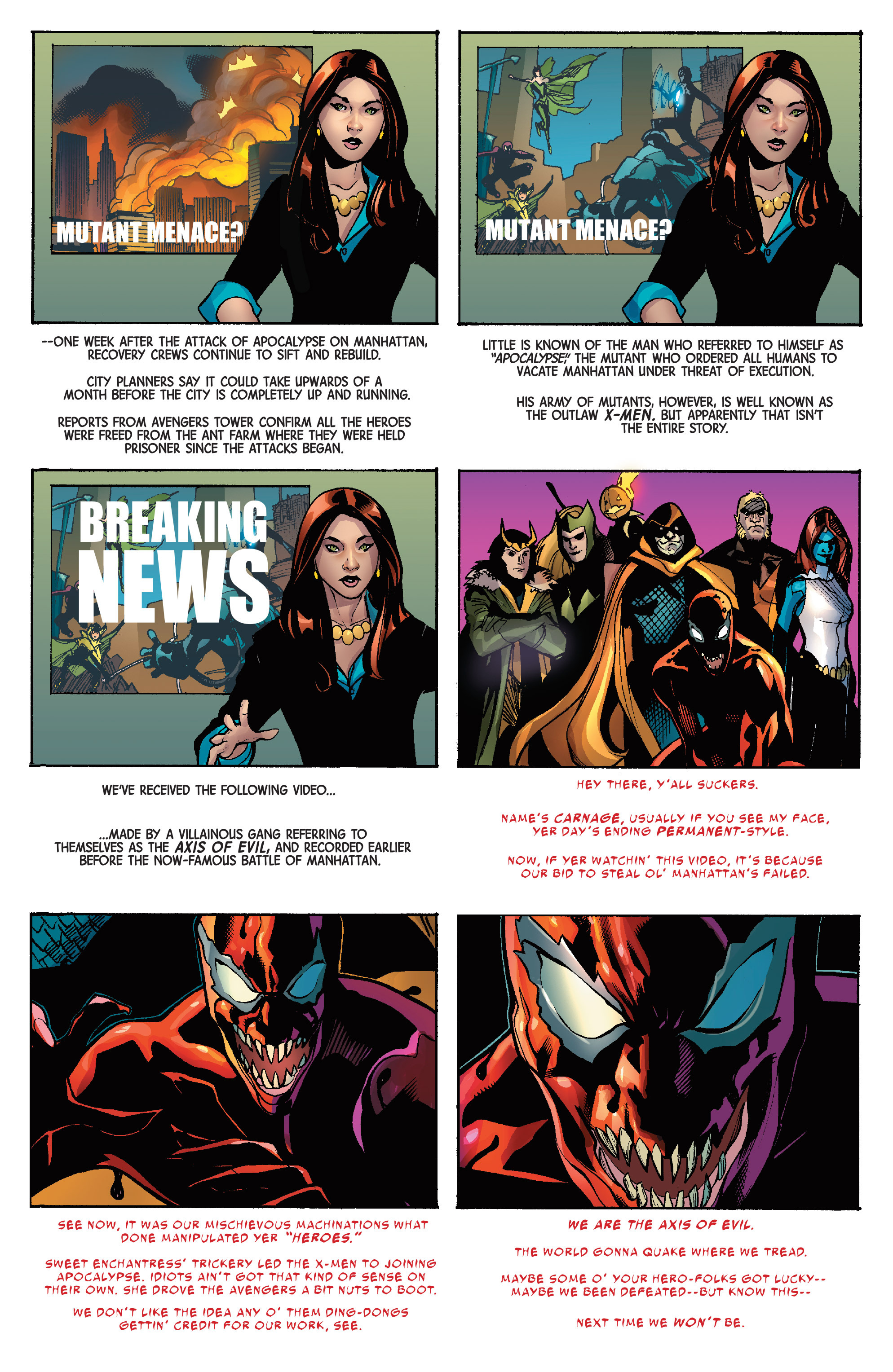 Read online Avengers & X-Men: AXIS comic -  Issue #9 - 36