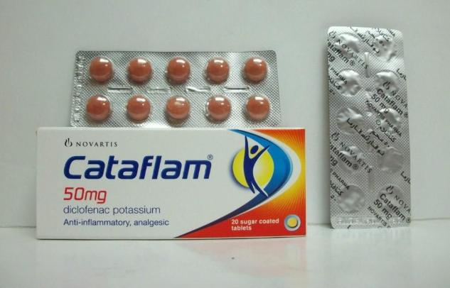 Gambar dan Harga Cataflam 50 Mg Diclofenac Potassium di Apotik