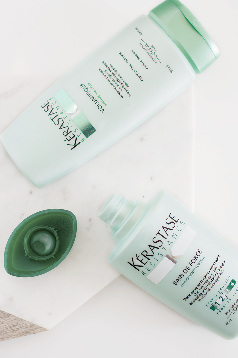 Lather, RInse, Repeat: Kerastase's Resistance collection