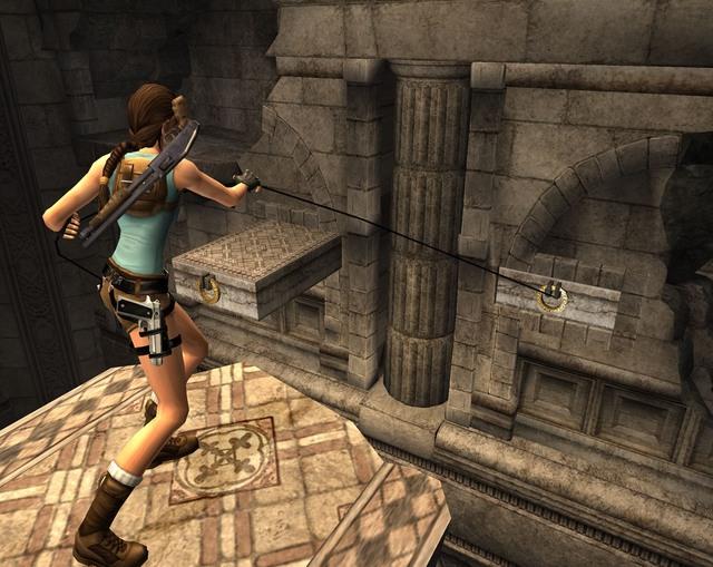 Lara Croft Tomb Raider Anniversary PS2 ISO – isoroms.com