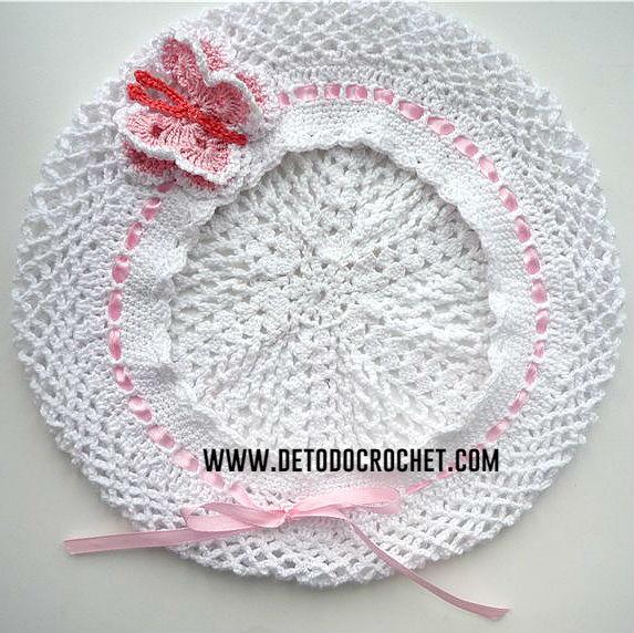 Cómo tejer una boina para bebés y niños / Paso a paso | Todo crochet