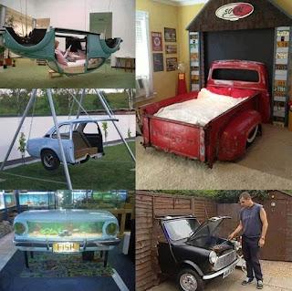 Ideas para reciclar partes de autos