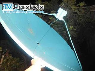 arah satelit thaicom 5