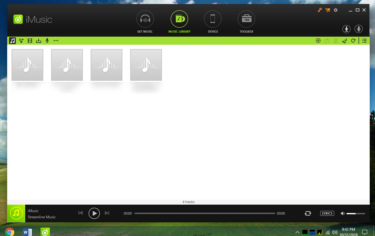 iMusic: An Elegant and Powerful Media Player Toolbox - NoobsLab