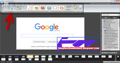 cara menggunakan software foto editor snagit
