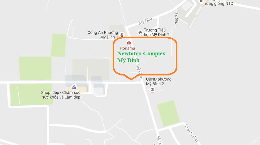 vị trí chung cư newtatco complex
