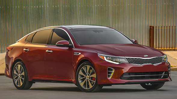 The Optima has grown, Kia shows at the IAA 2015