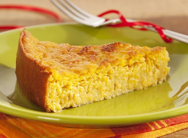 Bolo Pamonha (Bolo cremoso de milho)