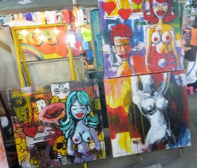 рисунки на рынке голых женщин