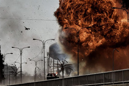 Video Ledakan Dahsyat di Tel Aviv Israel, 2 Tewas, 7 Terluka