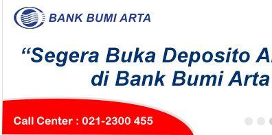 Alamat Lengkap Dan Nomor Telepon Bank Bumi Arta Di Jakarta Pusat