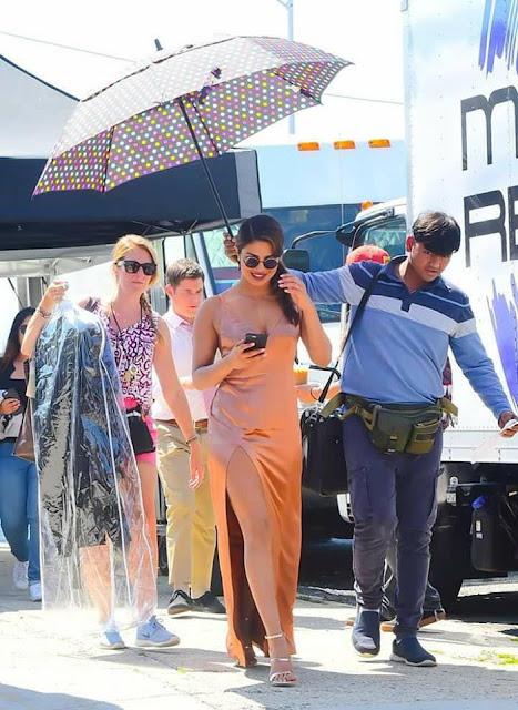 Priyanka Chopra Latest Shooting Photos