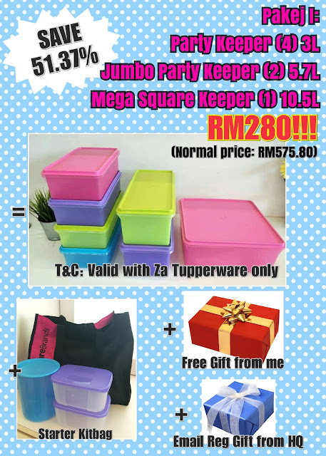 Tupperware Pakej Keahlian November - December 2017