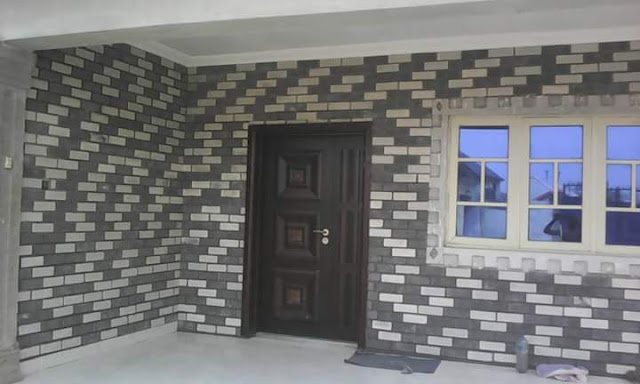 eco bricks in grey and black