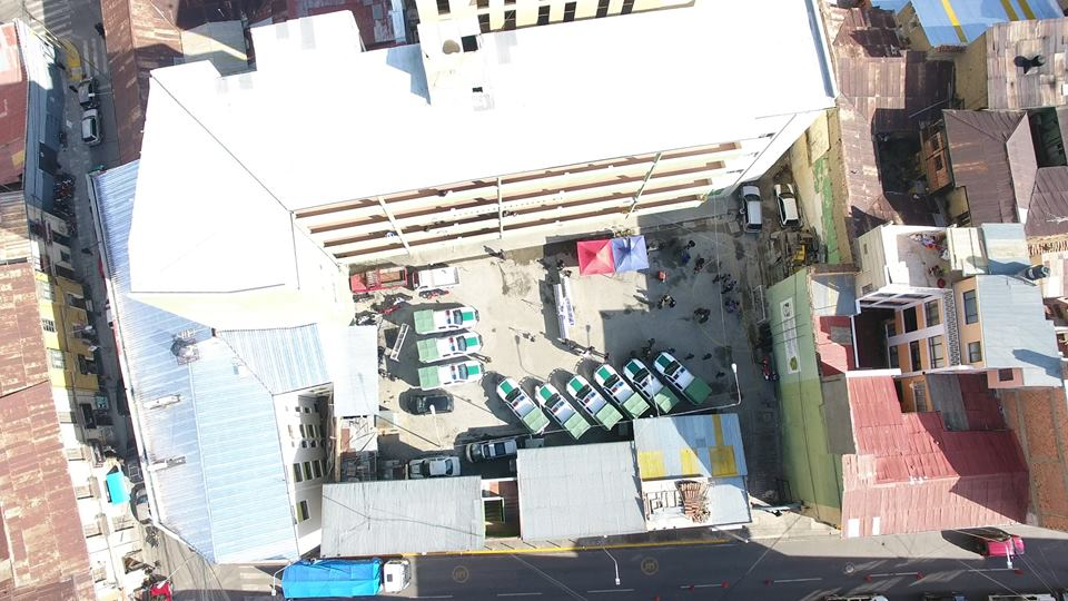 Las 9 camionetas apoyarán operativamente la lucha contra la delincuencia en  La Paz