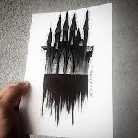 темный замок эскиз
