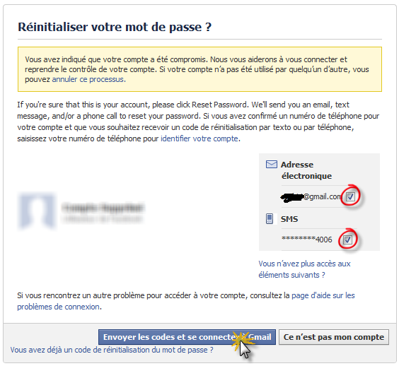 How to recover a pirated Facebook account! Use your e-mail to retrieve your Facebook:
