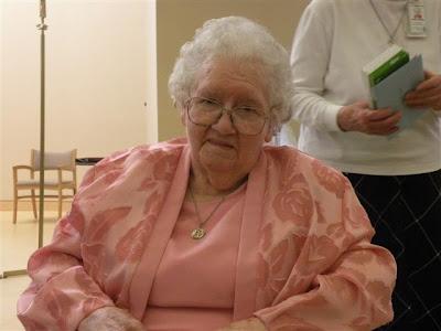 Sister Mary Justin Wheeler turns 100!
