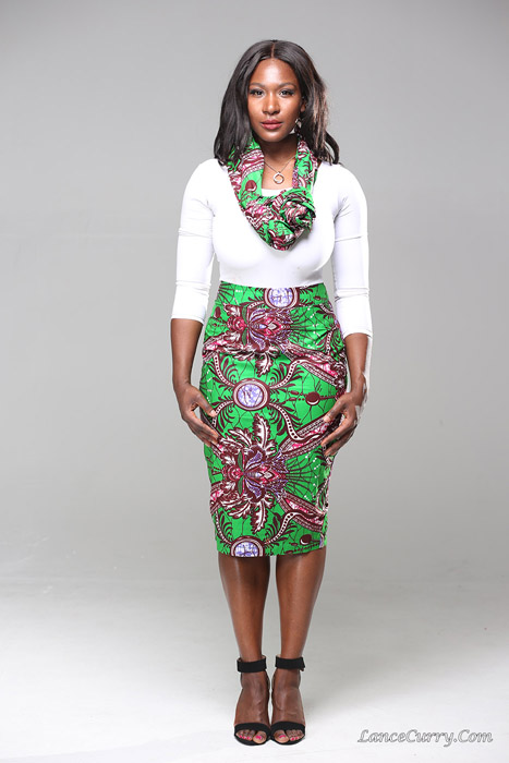 Long-Ankara-Pencil-Skirts-Styles=