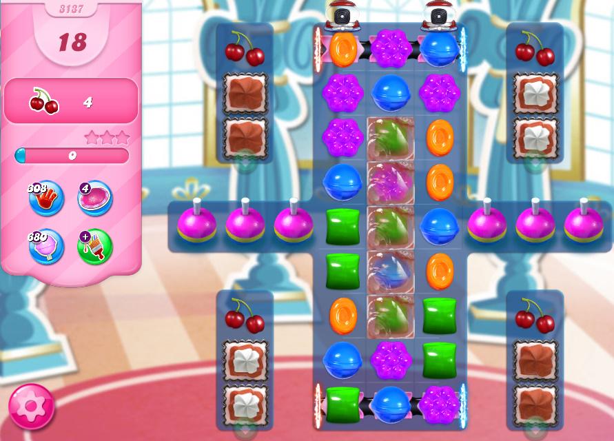 Candy Crush Saga level 3137