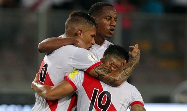 PERU 2-1 URUGUAY Eliminatorias Rusia 2018