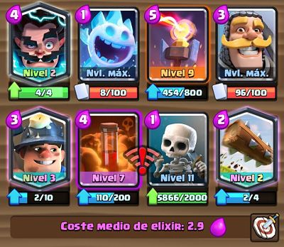 3 Mazo con Torre Infierno Clash Royale