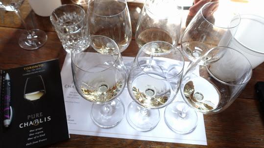Pure Chablis Wine Tasting