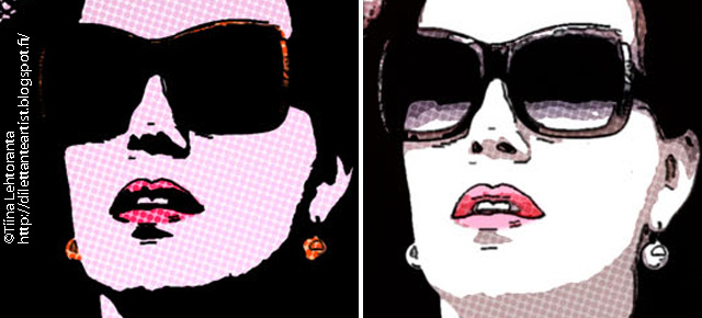 photoshop pop art