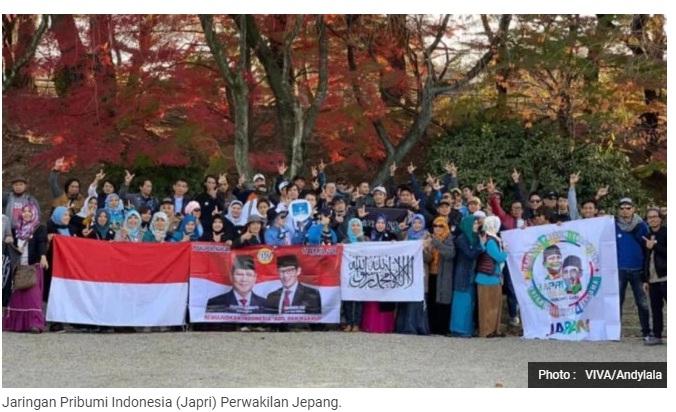 WNI di Jepang Deklarasikan Relawan Prabowo-Sandi