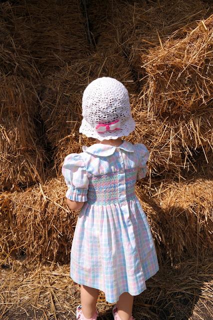 Szydełkowy kapelusik