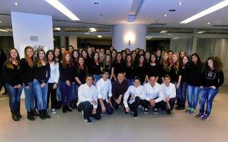 Συναυλία της Χορωδίας του 3ου Γυμνασίου Καστοριάς στο Άργος Ορεστικό