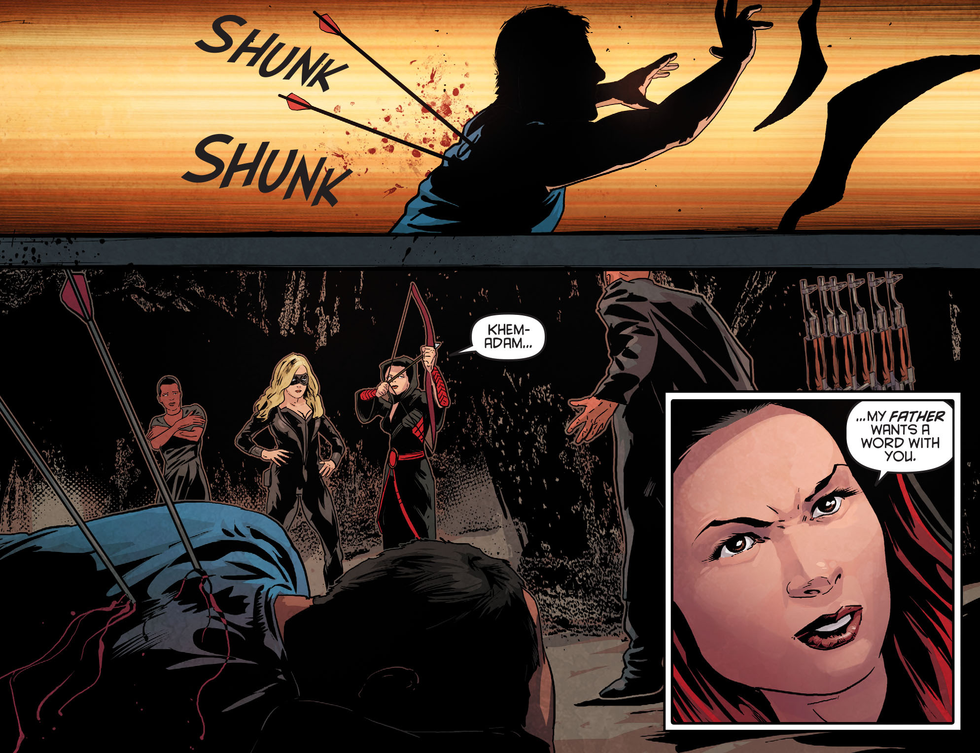 Read online Arrow: Season 2.5 [I] comic -  Issue #12 - 20