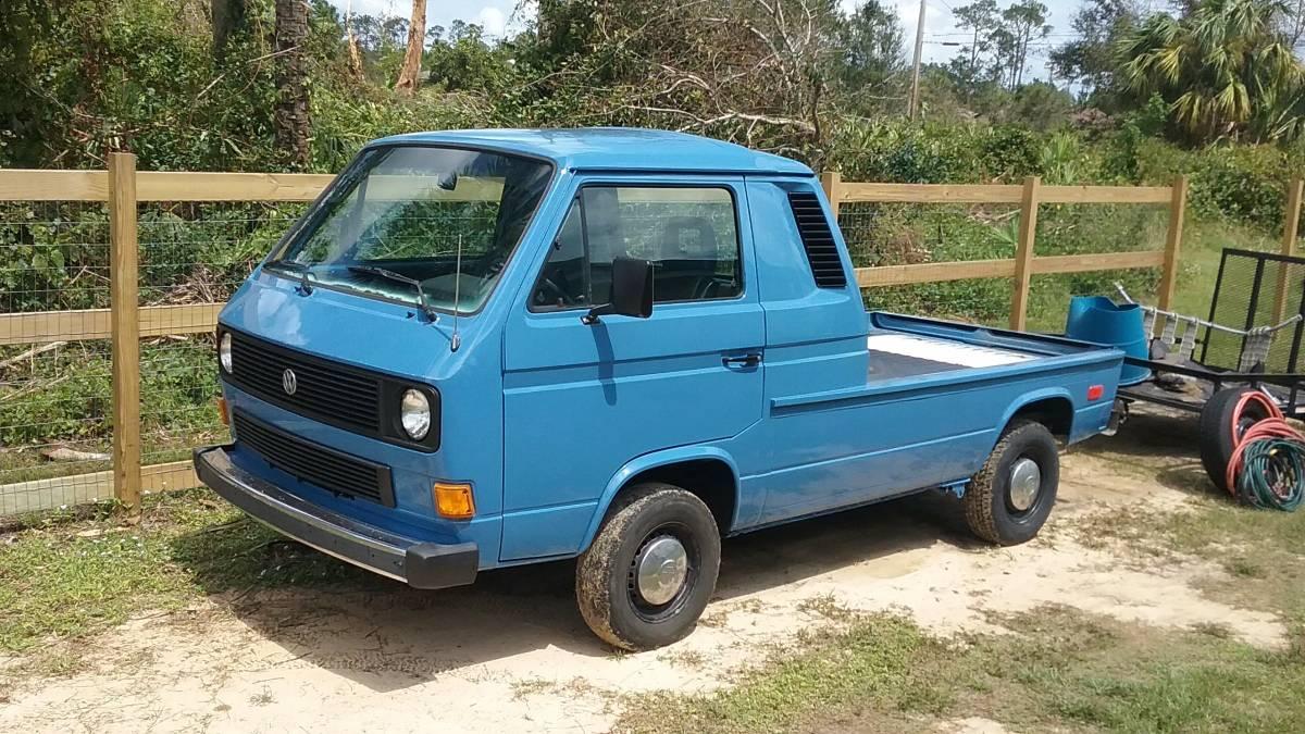 Daily Turismo: Pick Me Up: 1984 Volkswagen Vanagon