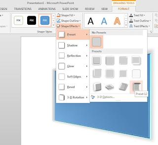 powerpoint, tutorial, microsoft office, powerpoint 2013, efek 3d powerpoint,