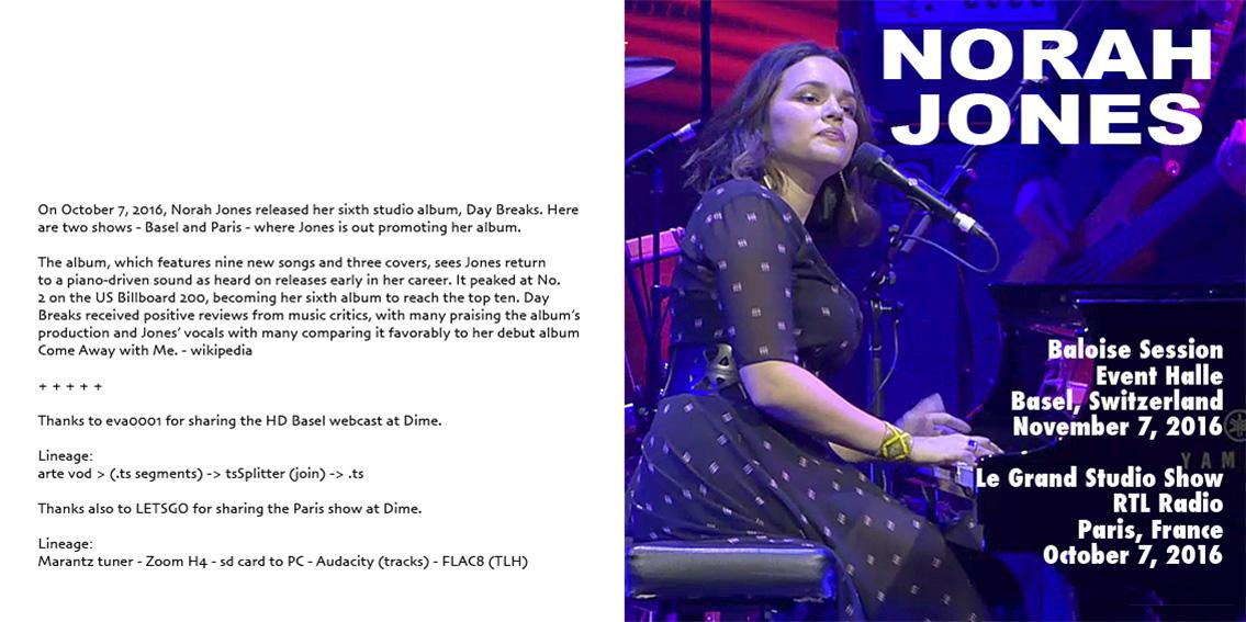 Norah Jones Broken Flac - cartlivin