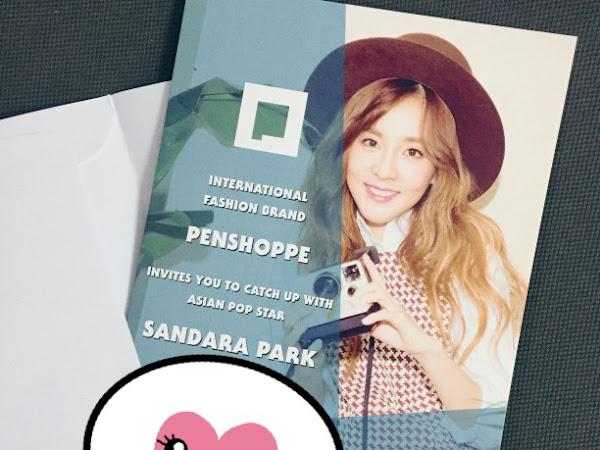 Sandara Park in Manila for Penshoppe