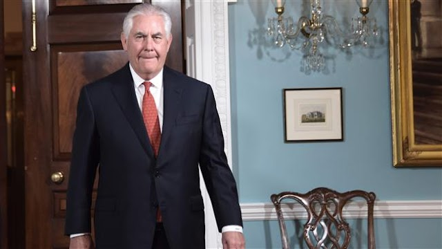 Rex Tillerson vows diplomacy with Pyongyang 'until the first bomb drops' by North Korea