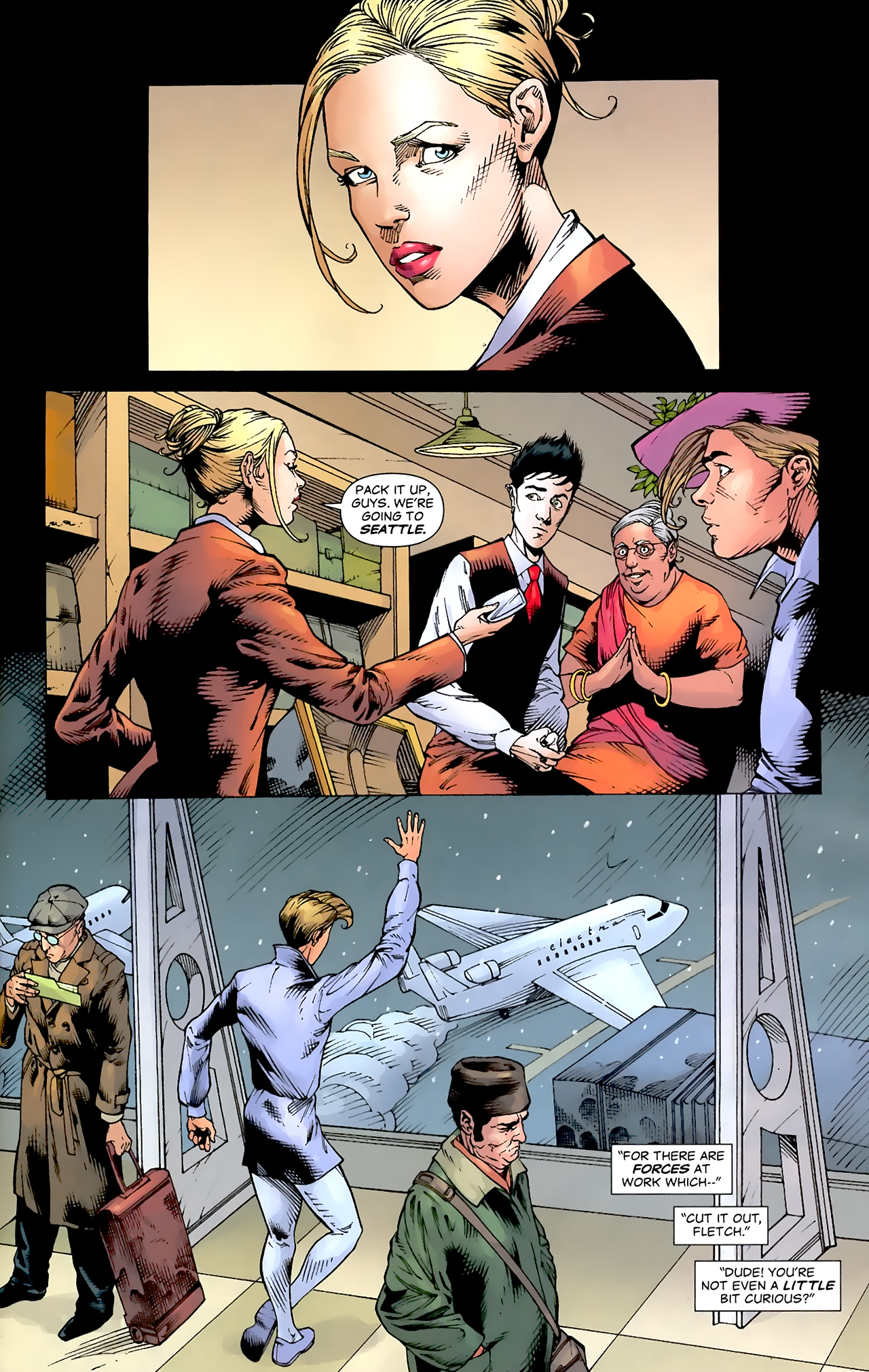 Read online Air comic -  Issue #20 - 9