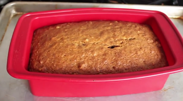 QUICK CHOCOLATE AND NUT BREAD
