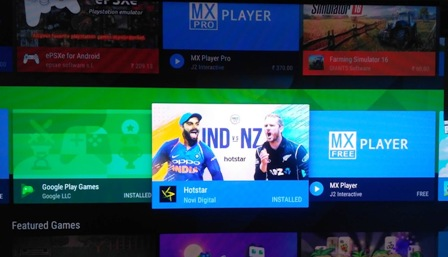 Best Apps for Android TV: Hotstar Android TV app available in Canada