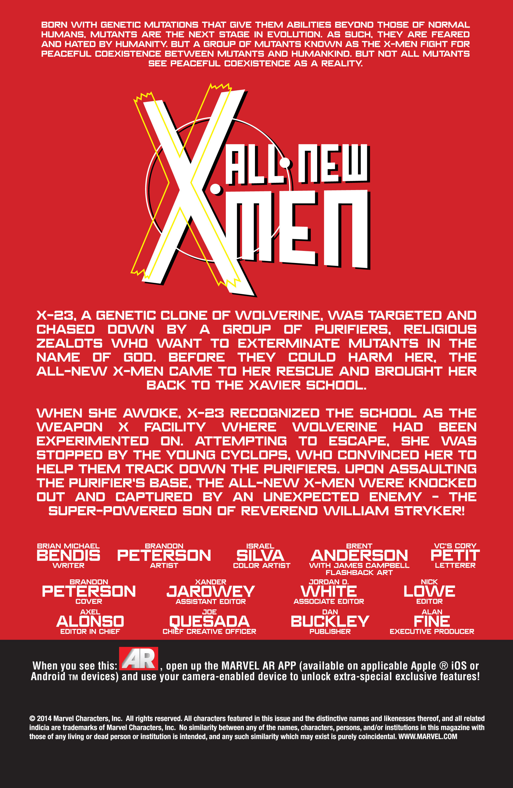Read online All-New X-Men (2013) comic -  Issue # _Special - All-Different - 60