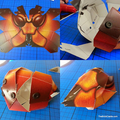 Interplay Giant Hornet paper craft model review