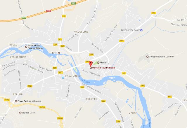 https://www.google.fr/maps/place/Univers.Popul.De+Ruelle/@45.678116,0.228164,15z/data=!4m5!3m4!1s0x0:0x60acf644d1719323!8m2!3d45.678116!4d0.228164
