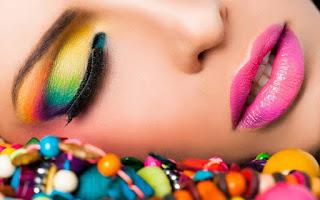 Eye Makeup And Gulabi Lips Hot Images