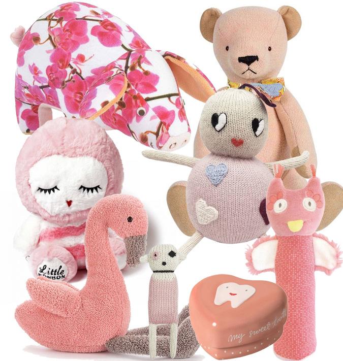 roze knuffels