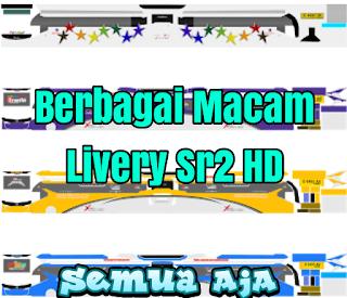 Berbagai Macam Livery Bus Sr2 HD Terbaru