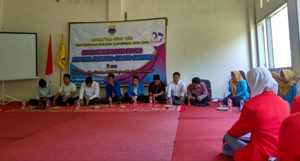 Meningkatkan Kesadaran Pemahaman Gender, KOPRI PMII Raden Segoro Gelar SIG Ke-I